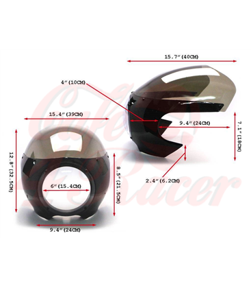 Universal  Retro cafe racer mask RE1