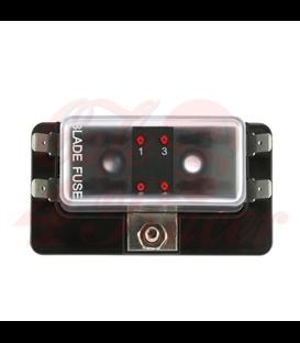 Fuse Box 4/6/10  Way  with LED Warning Light
