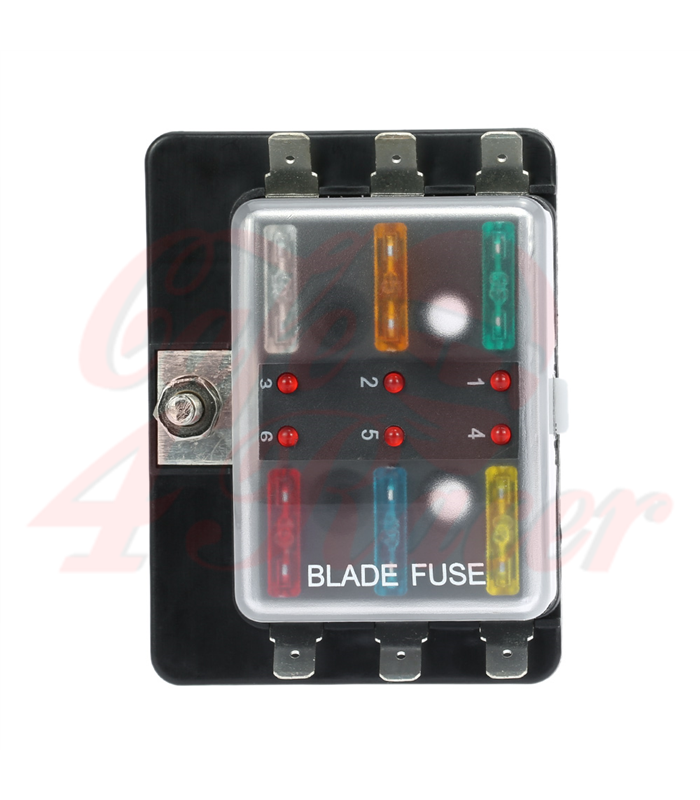 Bmw R65 Fuse Box : Fuse box way with led warning light cafe racer