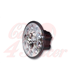 HIGHSIDER 5 3/4 inch LED Headlight ATLANTA  čierny/chróm