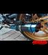 Výfuk GP štýl 03 modrý CARBON  + kolektor 4to1 pre BMW K100