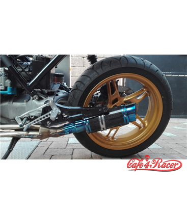 exhasut GP style 03 blue CARBON + collector4to1 for BMW K100