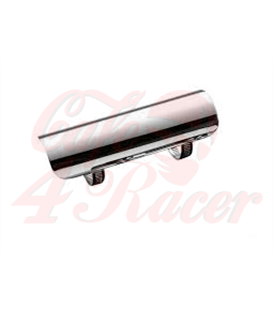 Exhaust heat shield, Chrome