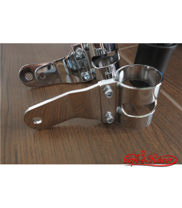 headlight bracket 53-57mm chrome