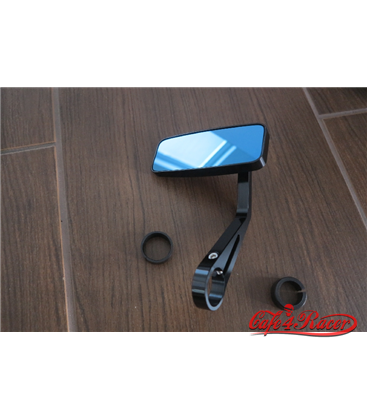HIGHSIDER CNC-milled handle bar end mirror ACTION