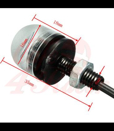Bar END LED Turn Signal Indicators CR17