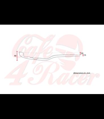 Honda CX500 Cafe racer Scrambler Typ2 Hnedá RHOMBUS