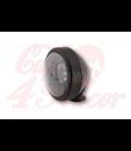 SHIN YO 4 inch LED high beam headlamp, matt black,  chrome