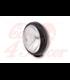 SHIN YO 4 inch LED diaľkové svetlo , matná čierna, chrómová