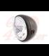 SHIN YO 7 inch hlavné svetlo SANTA FE, matná čierna, lesklá čierna, chrómové