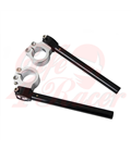 Universal adjustable clip ons 33-46mm