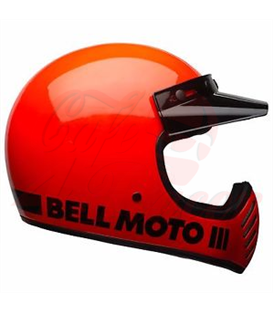 Bell Moto-3 Classic Orange