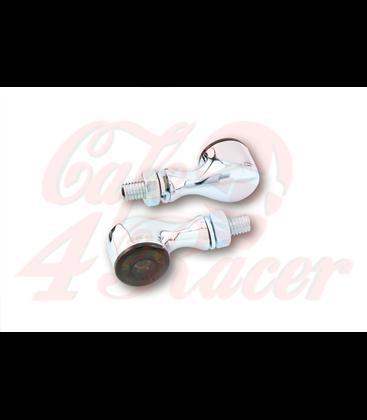 HIGHSIDER LED indicator APOLLO CLASSIC black/chrome