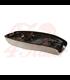 Bonneville Dual Seat - Rattlesnake Tail - Black