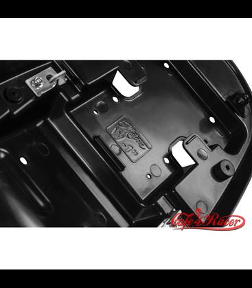 Bonneville Cafe Racer Seat - Diamond Stitch - Black