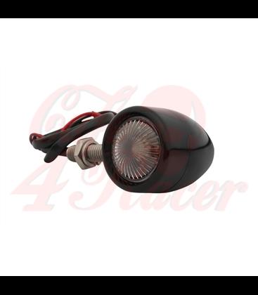 Custom Billet Indicator Turn Signals - Set of 4 - Black