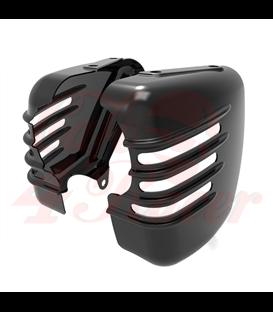 Triumph Bonneville bočné panely - lesklé čierne prevedenie