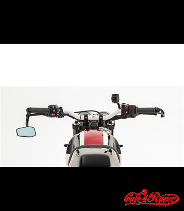 LSL X-Bar Superbike handlebar white glossy-coated