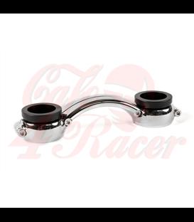 Custom Top Riser Clamp Bridge Piece - for One Inch Bars - Black
