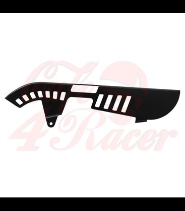 Custom Chain Guard Round Cut - Black