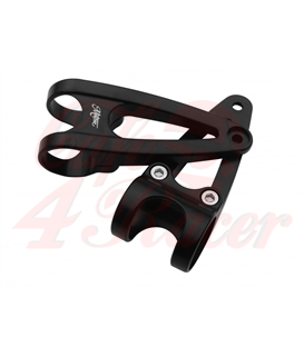 Triumph Bonneville / BMW K models  Custom Headlight Brackets 41mm - Black