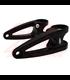 Custom Chain Guard Square Cut - Black