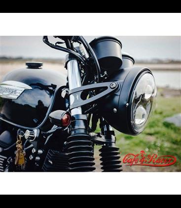 Custom Headlight Brackets 41mm - Black