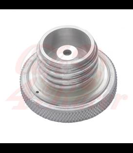 Custom Fuel Gas Cap - Billet Aluminium - Spun Satin Finish