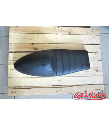 Cafe Racer seat CR12 black STRAIGHT