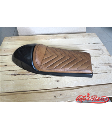 Cafe Racer seat CR12 Brown Vshape