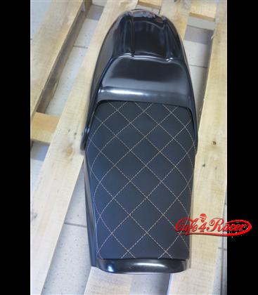 BMW R75/85/100 twin shock BMW Café Racer Scrambler seat Black  ROMBUS