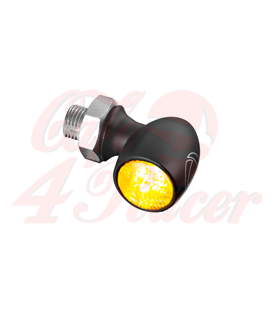 Bullet Atto Dark LED-indicator from Kellermann, smoke lens