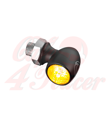 Kellermann Bullet Atto Dark LED-indicator smoke lens