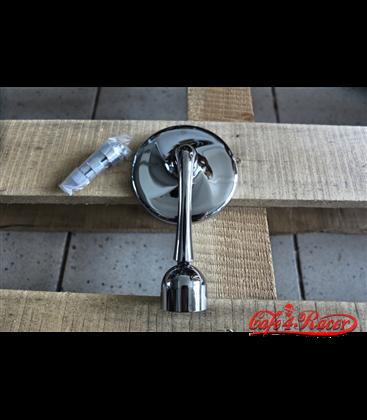 HIGHSIDER handle bar end mirror CLASSIC, chrómový povrch