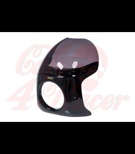 Cafe Racer Maska Type 2 ABS dymové sklo