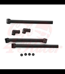 """Jota 2.0 Adjustable Handlebars - 22mm (7/8"""") Diameter - Black"""