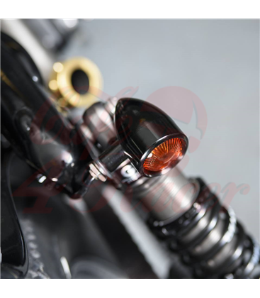 Custom Billet Indicator Turn Signals -  2ks - čierne