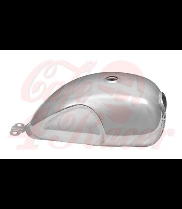 Custom Petrol Tank - EFI - Polished Aluminium