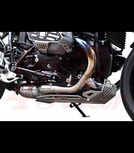 IBEX ochranný kryt motora strieborný , BMW R nine T/Scrambler/R1200R/GS