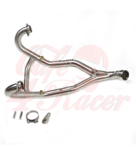 Headpipe without Catalytic Converter BMW R9T Stainless steel