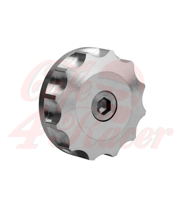Engine Oil Filler Cap - Billet - Silver