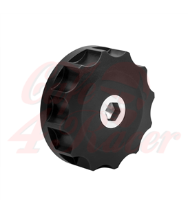 Triumph Bonneville Custom olejový  uzáver čierny
