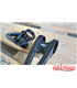 Triumph Bonneville Custom Headlight Brackets 41mm - Black