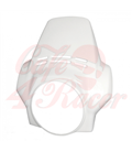 Predný štít alpine white  BMW  R1150 G/S R 1150 ADV, R 1200 G/S R1150 R