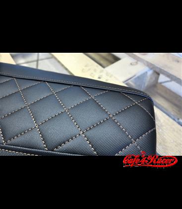 Flat Racer  CR15 Antislip Black BMW RS100S/R90/R80 Rombus