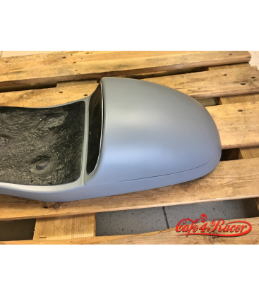 Double seat for BMW K75/K100 with removable seat cowl