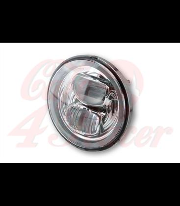 HIGHSIDER LEDHIGHSIDER LED hlavné svetlo vložka  TYP 7 chróm 5 3/4 palca