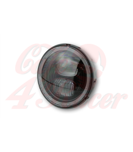 HIGHSIDER LED main headlight insert TYP 7, black reflector 5 3/4 inch