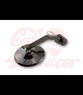 HIGHSIDER handle bar end mirror MONTANA  s LED smerovkou