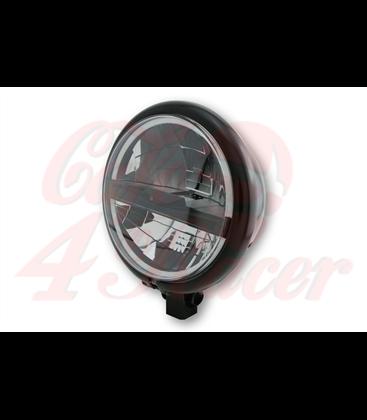 HIGHSIDER 5 3/4 inch LED hlavné svetlo  BATES STYLE TYP 5, čierne